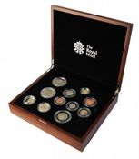 2012 Royal Mint Premium Proof Set